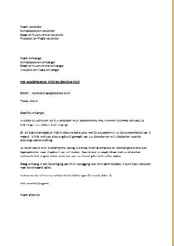 Zakelijke Brief Engels zakelijke brief afsluiten engels ontslagbrief