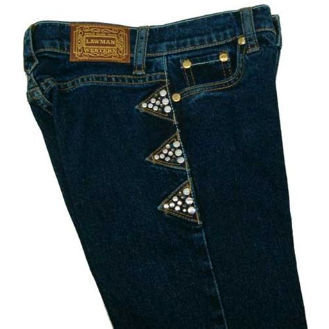 lawman crystal tribute jeans for girls