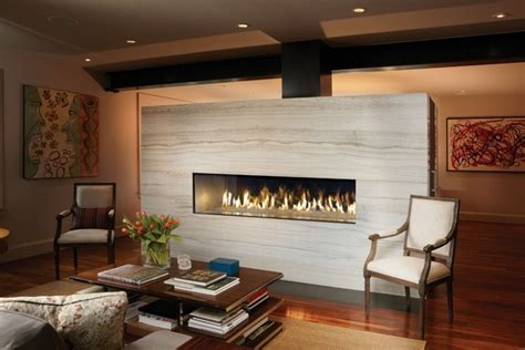 chic linear fireplace ideas modern fireplaces  great