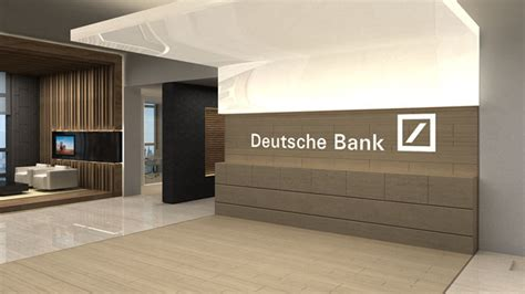 deutsche bank gold office fit out