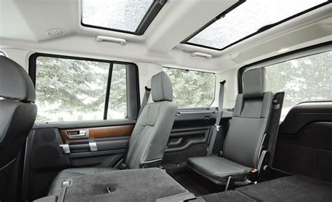 land rover lr4 interior 3rd row car and driver