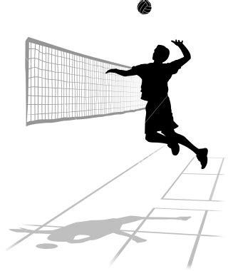 volleyball clipart awesome   volleyball court