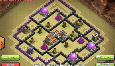 base layout yang baik gambar base war terkuat anti pekka sama naga th8 coc