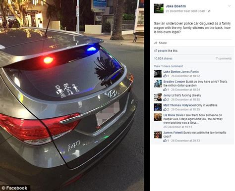 Exterior Car Lighting Laws Gold Coast Slammed For Patrolling In Unmarked Car