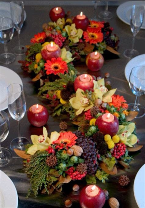 fall table decorating ideas fall decor table top decor pinterest