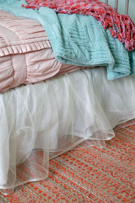 diy bed skirt diy tulle bed skirt