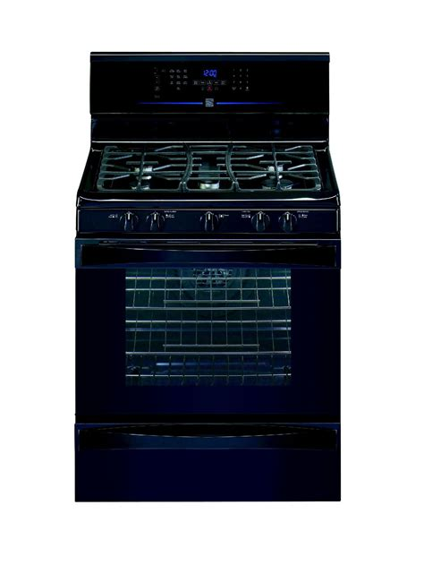 kenmore warm and ready drawer gas oven kenmore elite 78309 5 1 cu ft freestanding gas range black