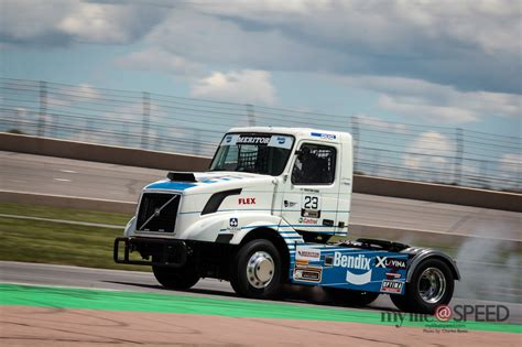 volvo truck series friday practice meritor chtruck series at pikes peak