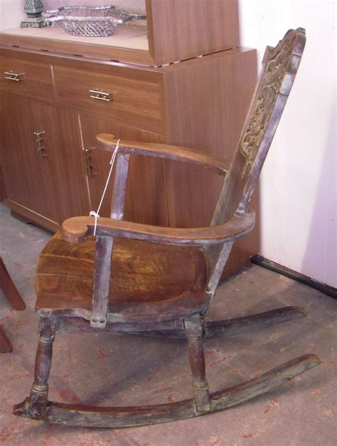 Antique Rocking Chair Identification by Distinctive Antique Rocking Chair Pls Help Id Collectors