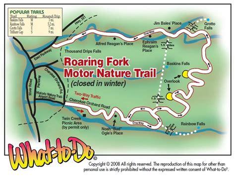 vrbo map roaring fork motor nature trail map www vrbo 558850