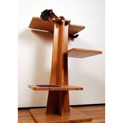 stylish cat tree modern and cool cat towers and condos my dog ate my money