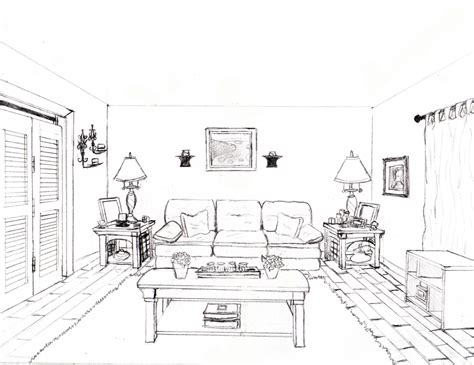 draw a room online one point perspective room by pockyshark on deviantart