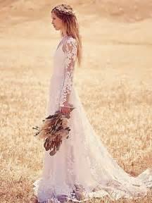 Lace bohemian wedding dress designs cheap unique holiday party 12
