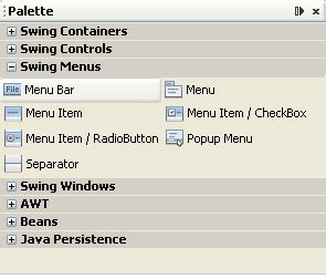 java swing menu bar java for complete beginners menus