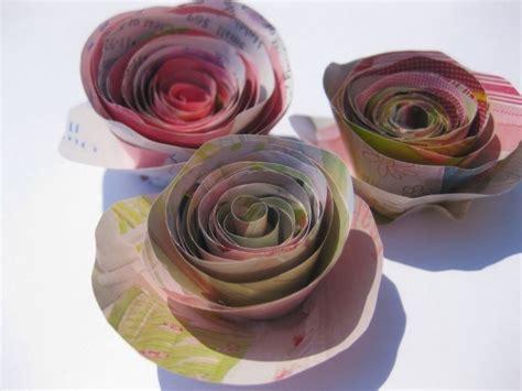 fiori di carta semplici come fare fiori di carta semplici fiori di carta come