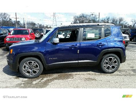 jeep 2016 blue jetset blue 2016 jeep renegade limited exterior photo