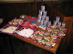 80s theme party food menu http personalisedparties blogspot com 2012