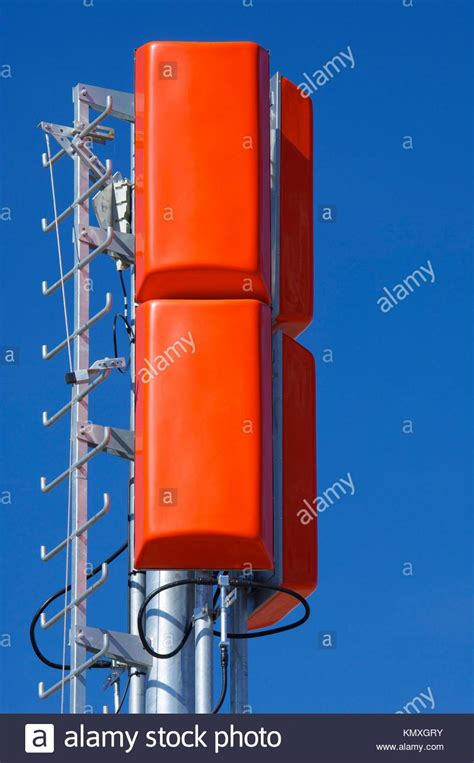 Microwave Bluesky microwave repeater stock photos microwave repeater stock