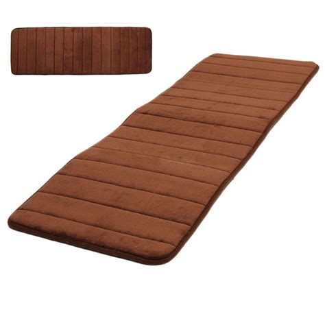 absorbent rugs 120x40cm absorbent nonslip memory foam bedroom door floor mat rug carpet f6 ebay