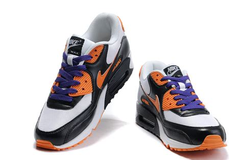 Nike Air Max 2015 Whiteblackorange P 1117 by Nike Air Max 90 Mens White Black Orange Yellow Running