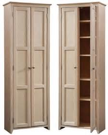 maple wood shaker pantry cabinet 24 x 72