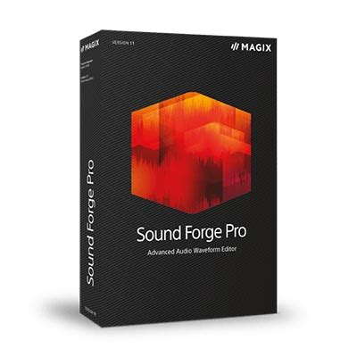 Software Audio Magix Sound Forge 11 Unlimated magix sound forge pro 11 perspekta doo