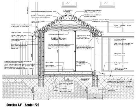 House Section Drawing by Ck Architecture On Quot Single Storey House Extension