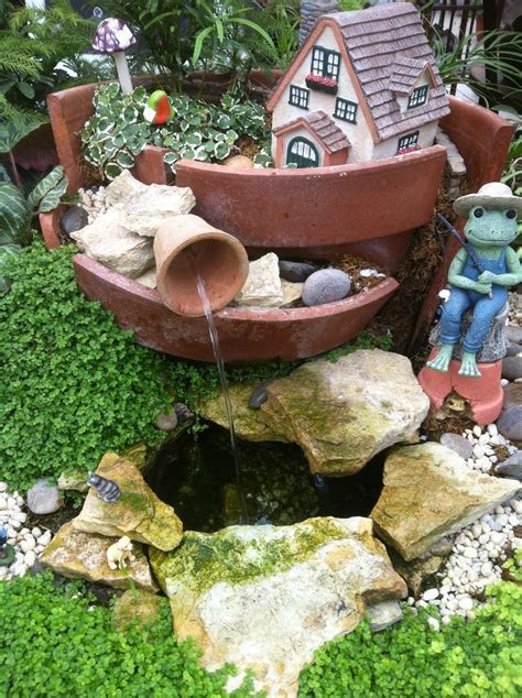 fairy garden miniature fieldstone fountain 632 best images about garden on gardens raised beds and garden gates