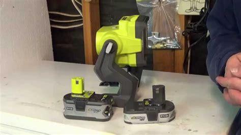 makita work light review ryobi 18v led p720 20 watt hybrid work light review