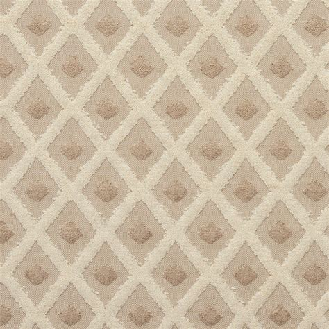 designer upholstery fabric sale b0770d taupe and gold diamonds and dots cut velvet