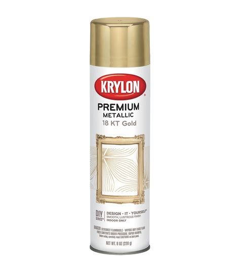 krylon metallic sprays 8 ounces joann joann
