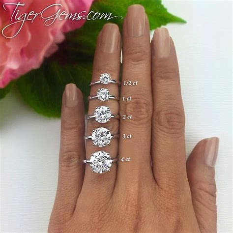 Engagement Ring Finger Size by Which Size Would You Wear My Finger Size Is A 4 75 For