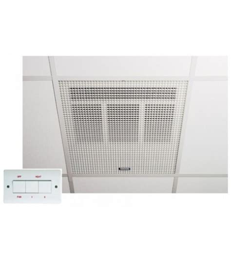 Recessed Ceiling Heaters by Consort Claudgen He7230 3kw Recessed Fit Downflow Ceiling