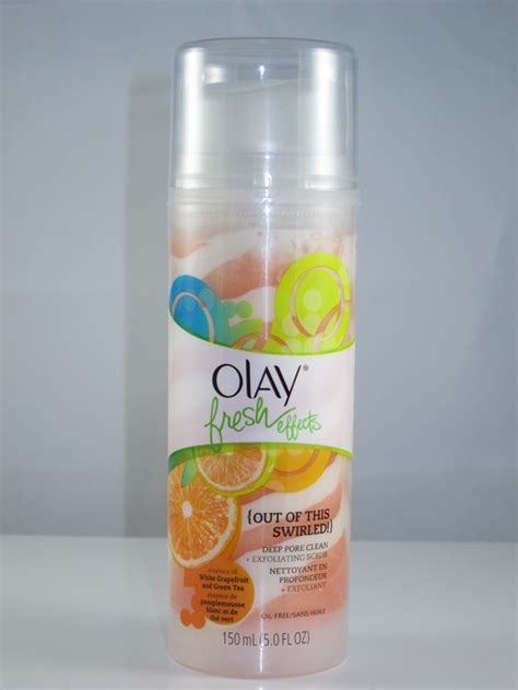 Olay Fresh Effect olay fresh effects pore clean plus exfoliating scrub