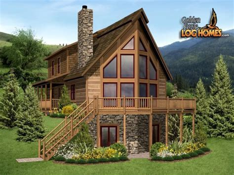 a frame home kits a frame log cabin home plans hybrid