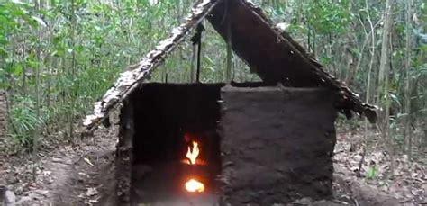hutte primitive hutte primitive et four solaire les vid 233 os 224 voir avant