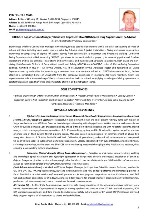 William Muth Resume by Resume