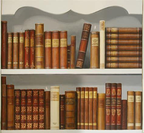 Bookcase Shelf Books In A Trompe L Oeil Bookcase Goring December 2011