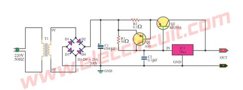 Charger 2a By Waroeng Elektronik top linear power supply regulator 5v 5a with 7812 and