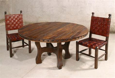 taurino oxbow dining table western dining tables free