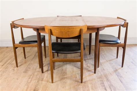 G Plan Dining Table And Chairs Vintage Retro G Plan Dining Table And 4 Ib Kofod Larsen Chairs Teak Ebay