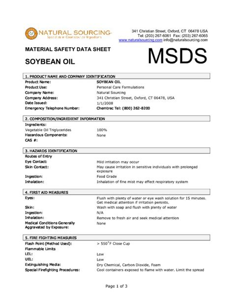 Material Safety Data Sheet Template by Sds Material Sheets Pictures To Pin On Pinsdaddy