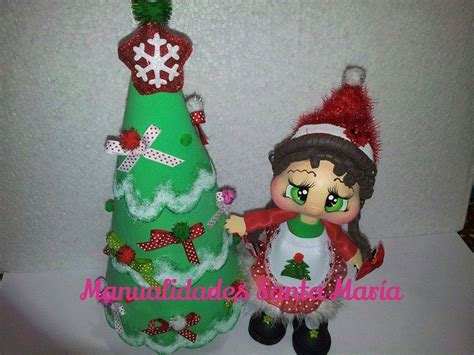 arbol de navidad en goma fofucha de navidad con arbol de navidad todo en goma