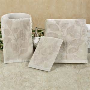 gray bath towels garden gate leaf gray bath towel set