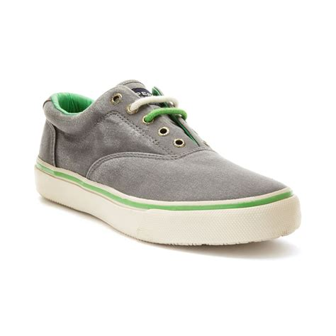 sperry sneakers mens sperry top sider mens striper cvo laceless neon sneakers