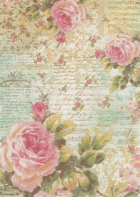 Rice Paper Craft - 17 best images about printable on vintage