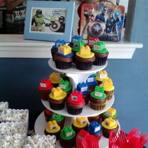 lego avengers cupcakes cupcakes avenger cupcakes birthday candles amazing cakes
