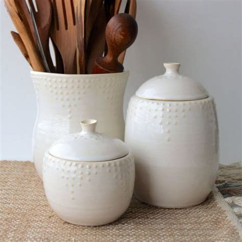 white ceramic kitchen canisters including handy jars with 178 best images about kitchen on pinterest butcher