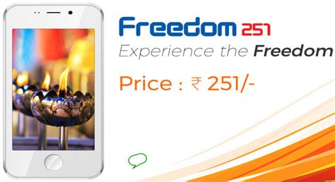 Smartphone Bell Freedom 251 ringing bells freedom 251 india s cheapest smartphone launched for rs 251