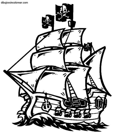 barco guerra dibujo dibujos de barcos pirata para colorear